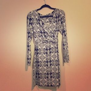 Black and White Nicole Miller Dress